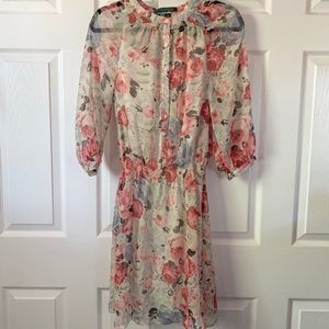 Ralph Lauren Women's dress sz 2 floral print
